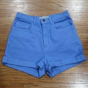 American Apparel High Waist Shorts sz 28 / 29